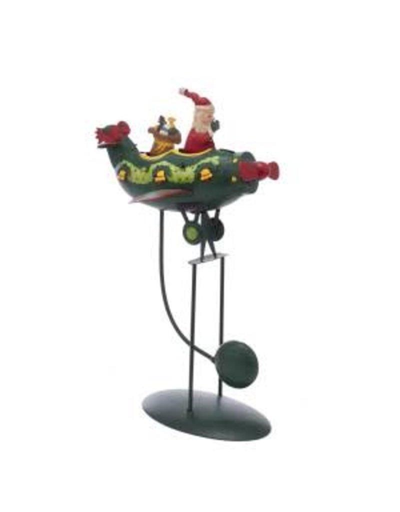 """12"""" Santa in Plane Pendulum"""