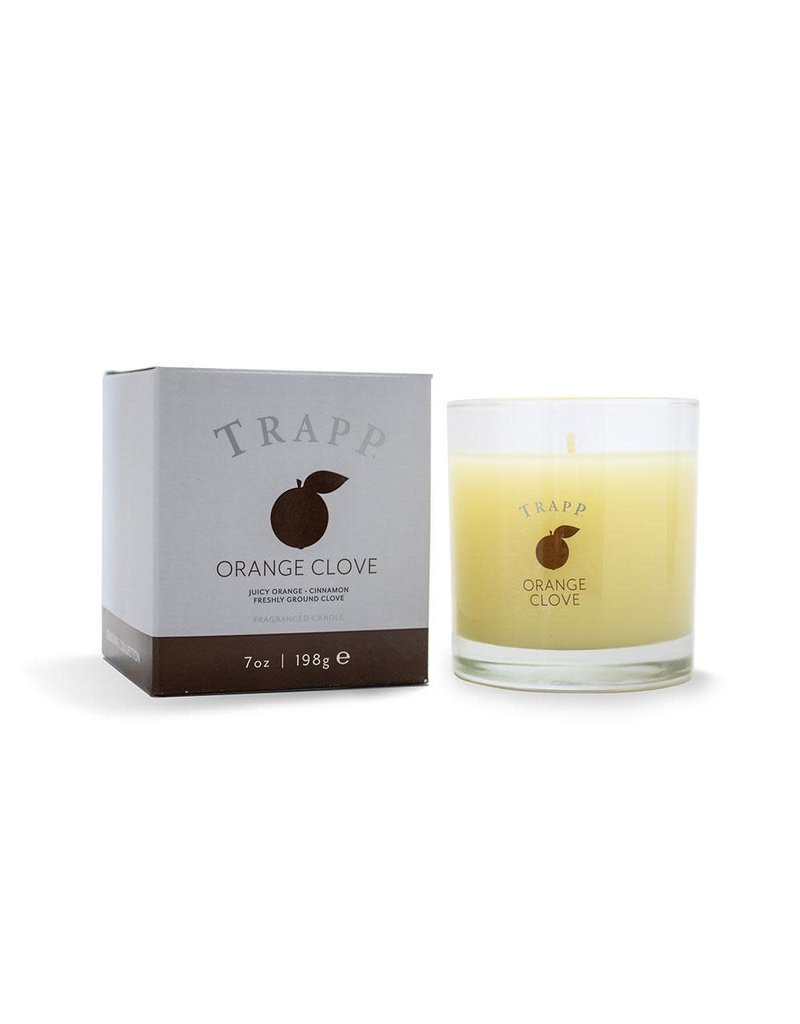 Trapp Holiday Lg Candle - Orange Clove