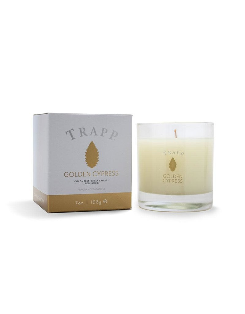 Trapp Holiday Lg Candle - Golden Cypress