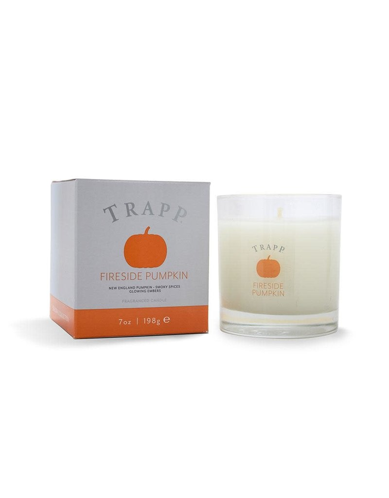 Trapp Holiday Lg Candle - Fireside Pumpkin