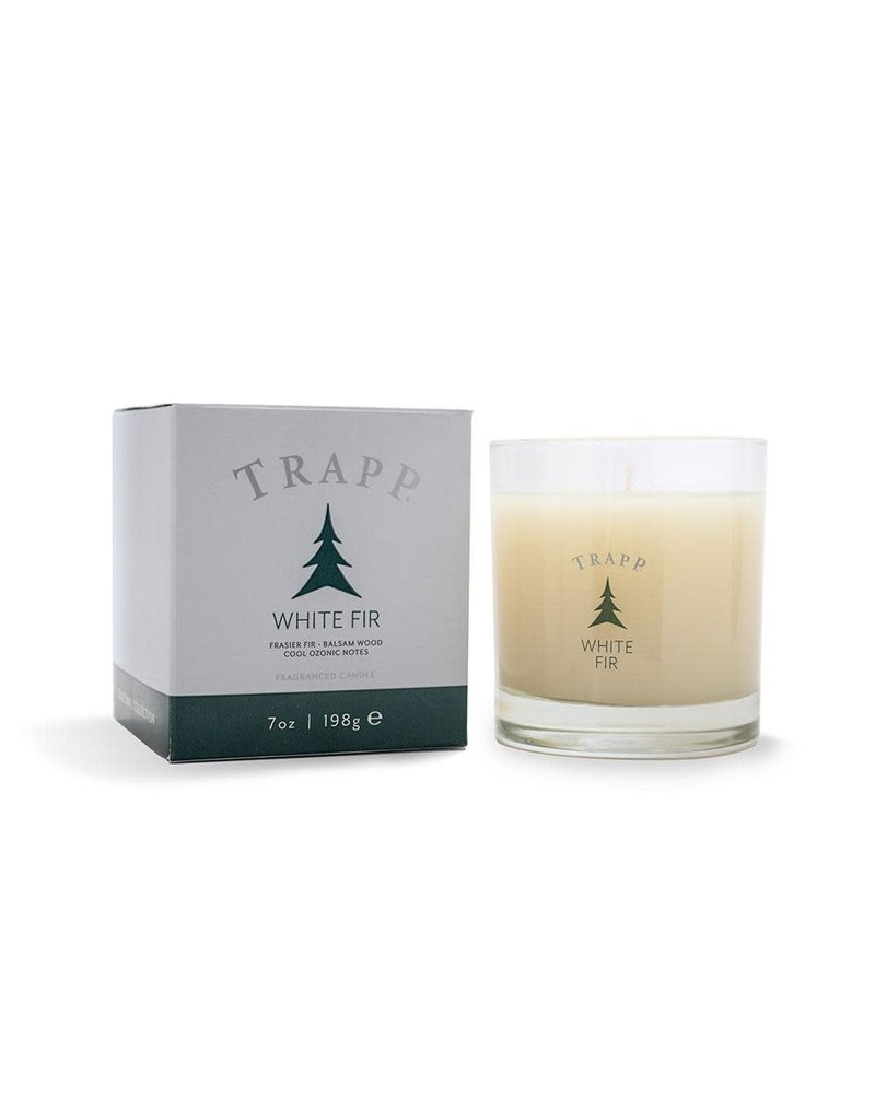 Trapp Holiday Lg Candle - White Fir