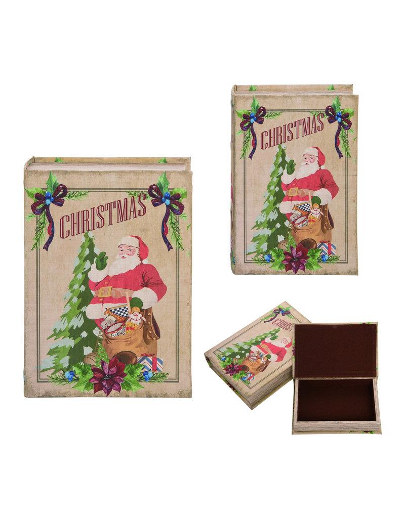 Santa Book Box Decor (large)