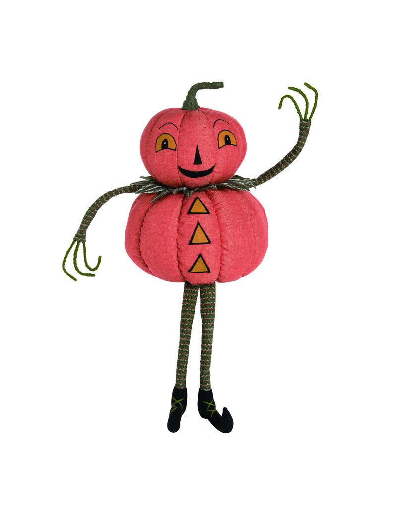 Plush Pumpkin Peep Sitter