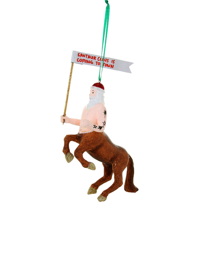 SANTAUR IS COMING TO TOWN ORN
