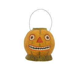 HAUNTED GARDEN PUMPKIN CANDY BUCKET