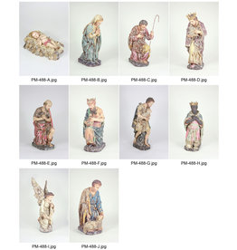 NATIVITY FIGURES (SET OF 10)