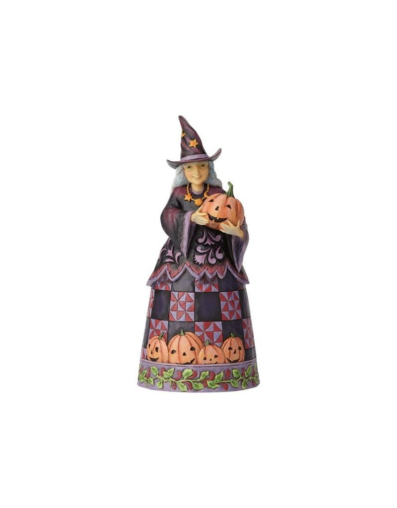 Jim Shore - Halloween Witch with Pumpkin