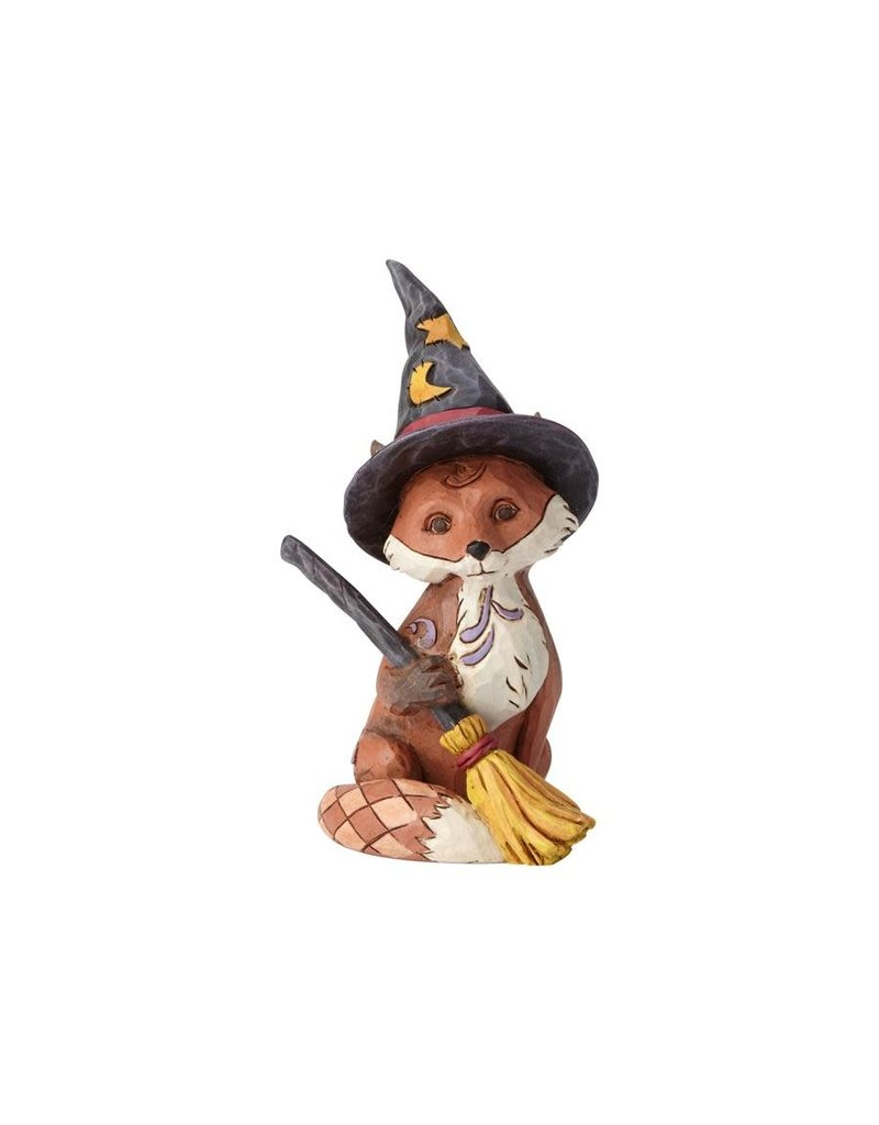 Jim Shore - Mini Fox in Witch's Hat