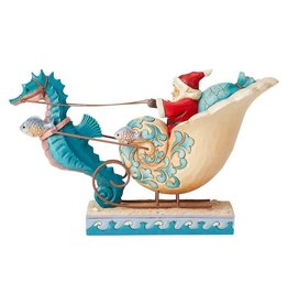 Jim Shore Coastal Santa in Seashell