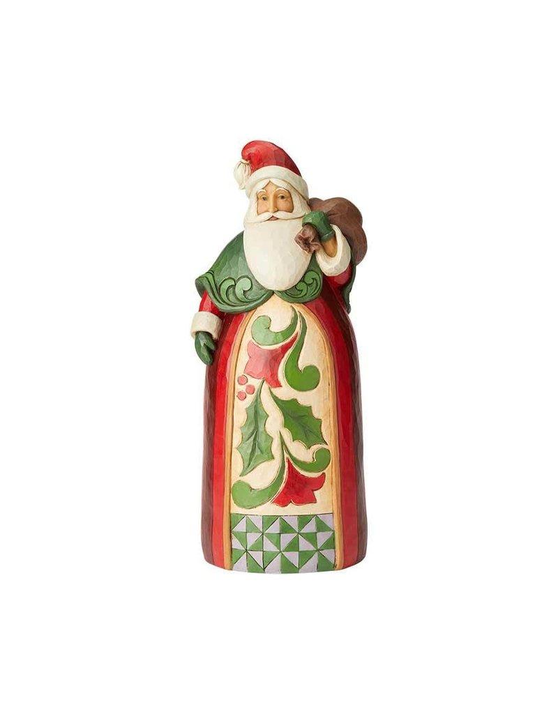Santa w/ Toy Bag Jim Shore