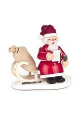 Smoker Santa on Sled