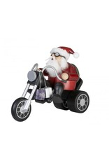 Christmas Smoker - Santa on Bike
