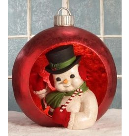 ornamental snowman large pm