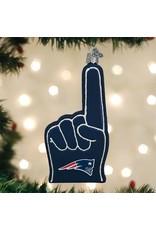 New England Patriots Foam Finger Orn