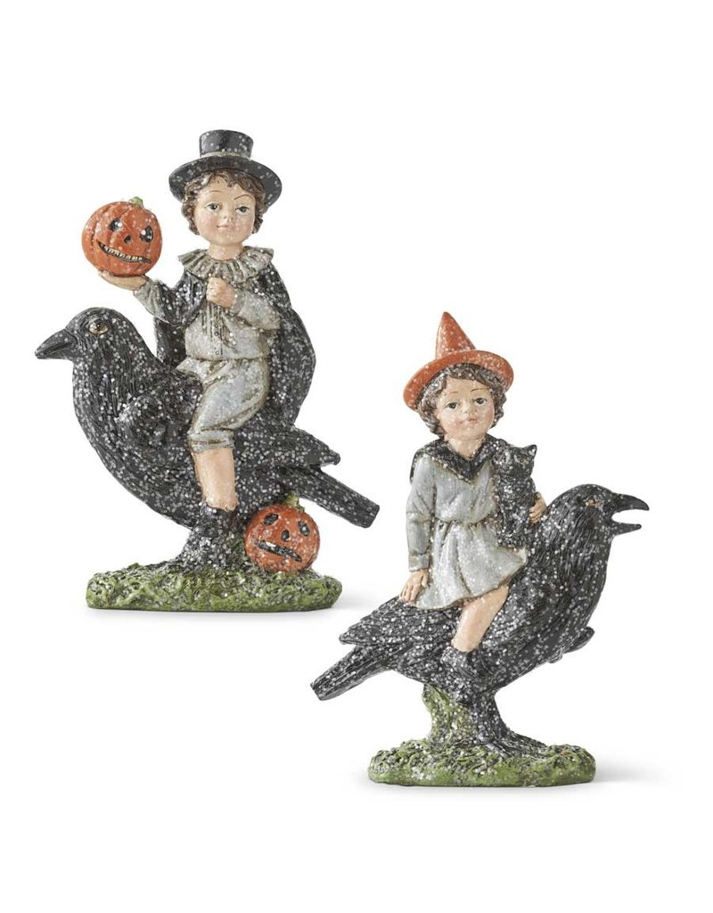 Assorted Glitter Boy and Girl in Hallowen Costumes