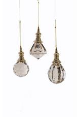 Crystal Potion Bottle Ornament (3 Asstd)