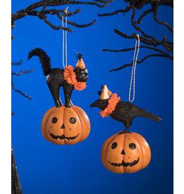 party pumpkin pals ornament (2 asstd)