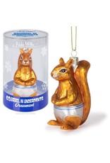 Squirrel Underpants Ornament