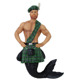 Keltic Kelly Merman Ornament