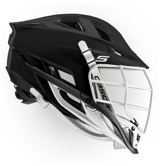 Cascade S Youth Matte Black White White Pearl Mask
