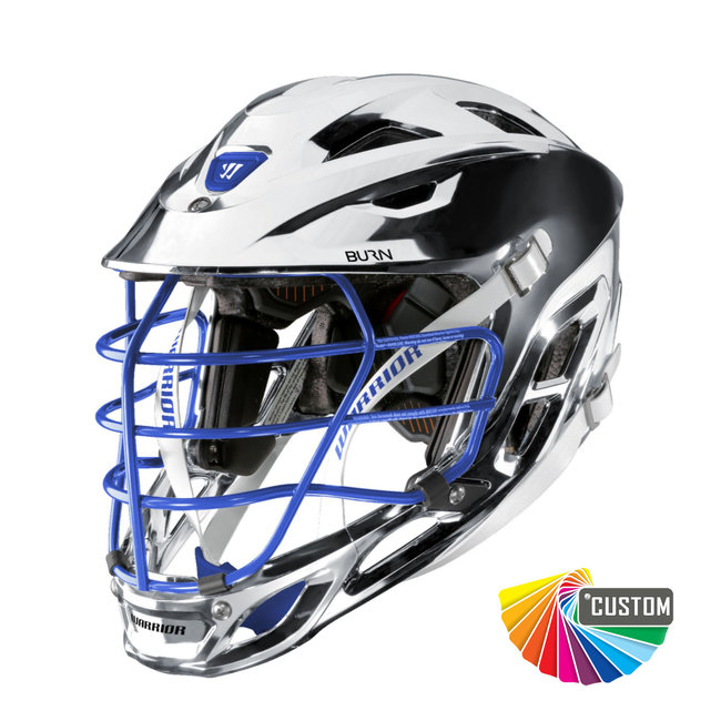 Warrior Custom Chrome Burn Helmet