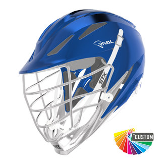 STX Custom Rival Chrome Helmet
