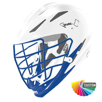 STX Custom Rival Painted Helmet