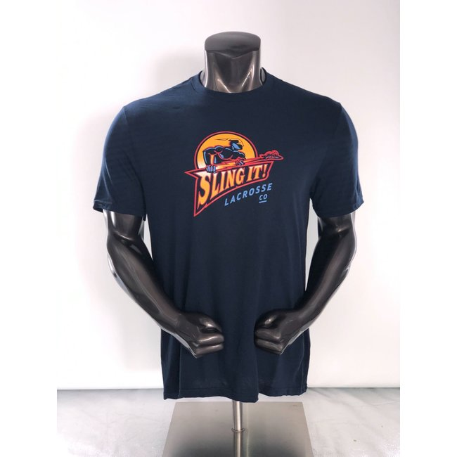 Sling It! Lacrosse Warrior Thunder Youth Tee