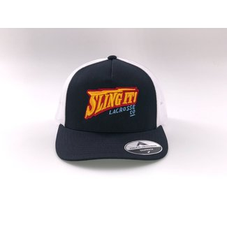 Sling It! Lacrosse Warrior Thunder Trucker Hat