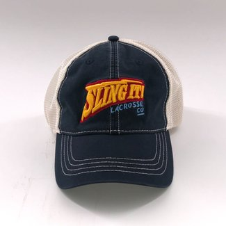 Sling It! Lacrosse Warrior Thunder Vintage Trucker Hat