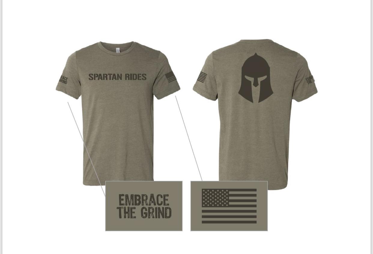Spartan Rides T-Shirt-1