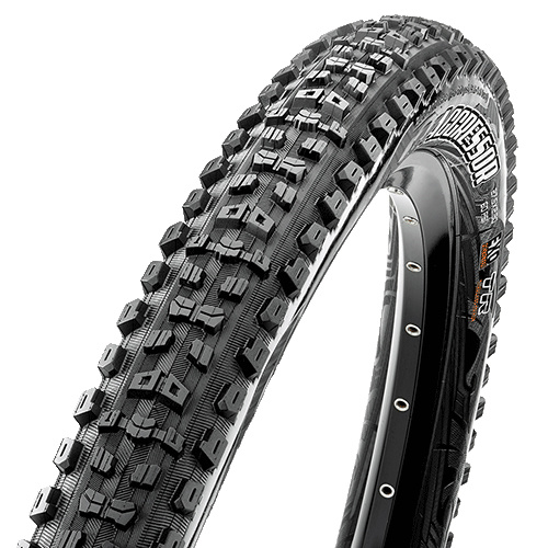 Maxxis Aggressor Tire - 29 x 2.5, Folding, Tubeless, Black, Dual, EXO, Wide Trail-1