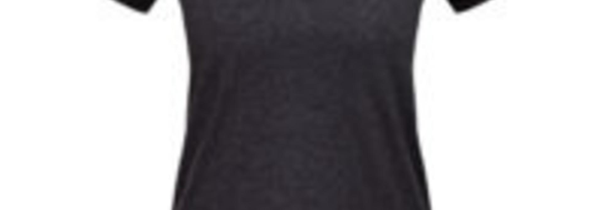 Shredly - the HONEYCOMB SHORT SLEEVE - Charcoal/Black - Size M