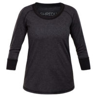 Shredly - the HONEYCOMB 3/4 - Charcoal/Black - Size L-1