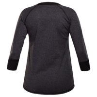 Shredly - the HONEYCOMB 3/4 - Charcoal/Black - Size L-2