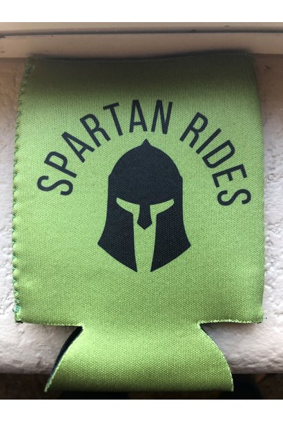 Spartan Rides Coozie