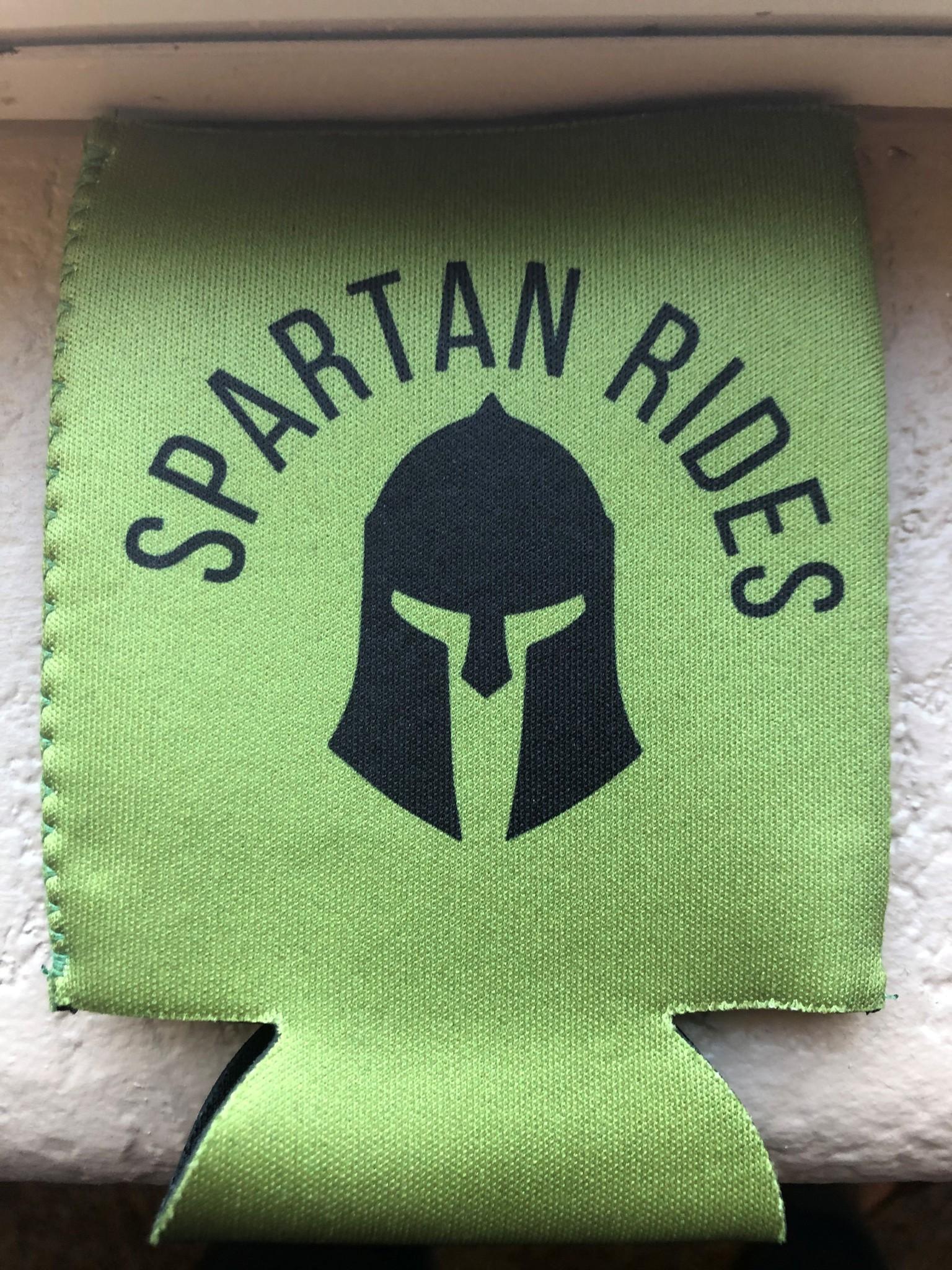 Spartan Rides Coozie-1