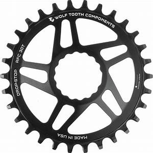 Wolf Tooth Direct Mount Chainring - 30t, RaceFace/Easton CINCH Direct Mount, Drop-Stop, For Boost Cranks, 3mm Offset, Black-1