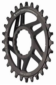 Wolf Tooth Direct Mount Chainring - 30t, RaceFace/Easton CINCH Direct Mount, Drop-Stop, For Boost Cranks, 3mm Offset, Black-2