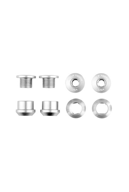 WolfTooth Components Chainring Bolts - Nickel