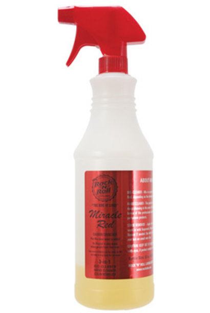 Miracle Red 3/1 Degreaser 4oz/32oz Spray Bottle - Concentrate