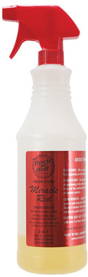 Miracle Red 3/1 Degreaser 4oz/32oz Spray Bottle - Concentrate-1