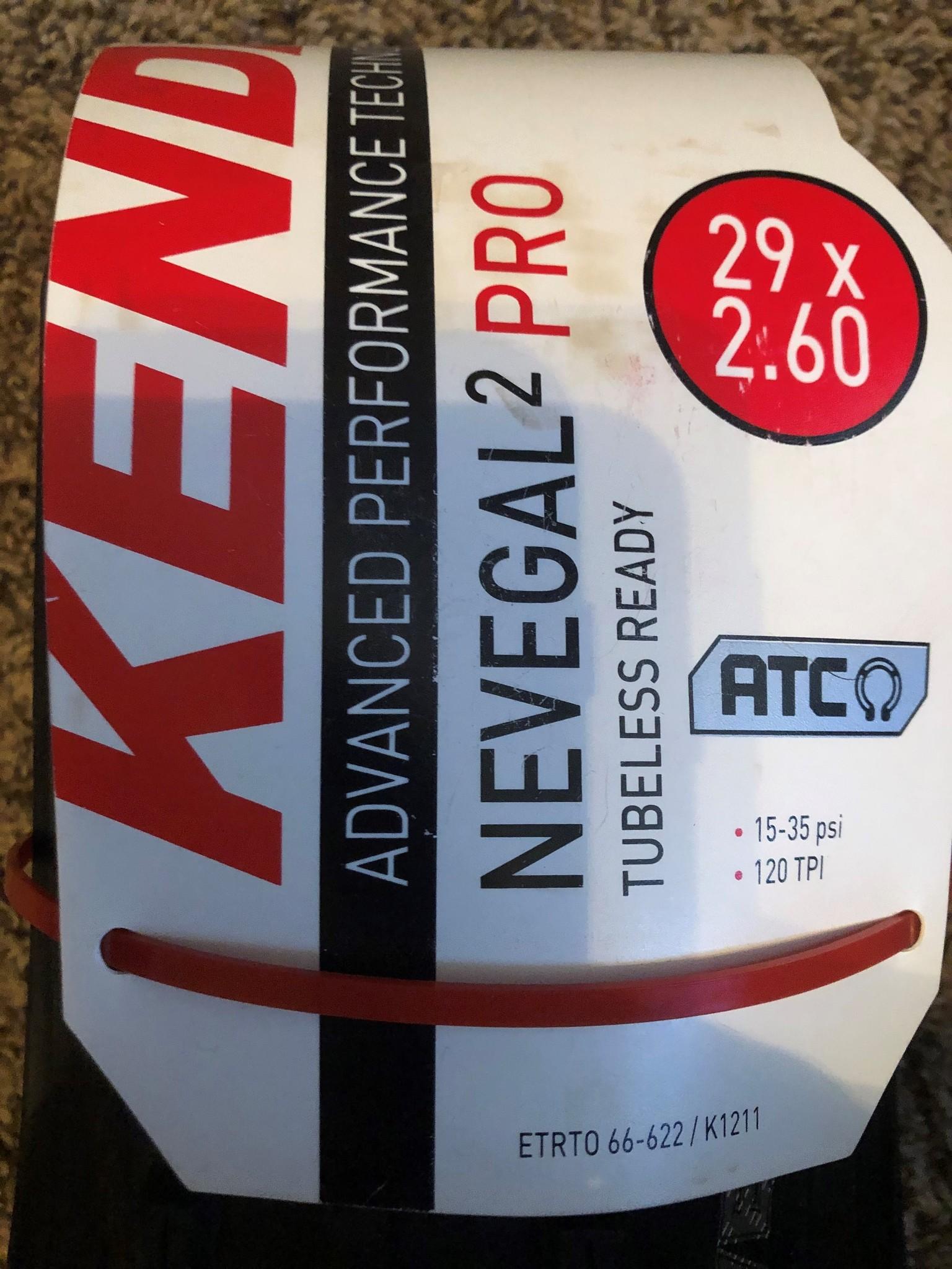Kenda Nevegal 2 Pro Tire - 29x2.6-1