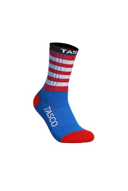 Double Digits Socks (Indivisible Flag)