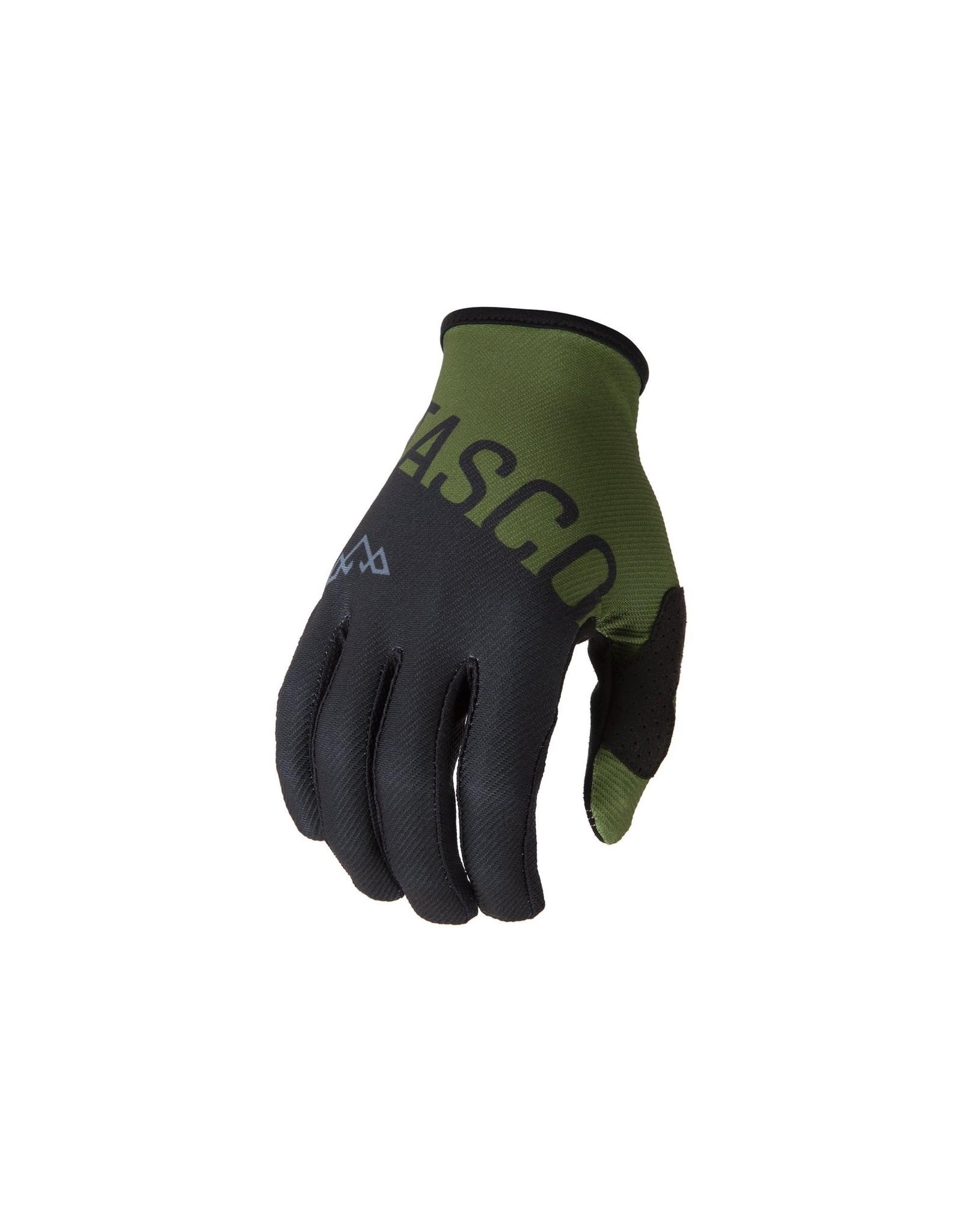 Tasco MTB Split Double Digits MTB Gloves (Olive)