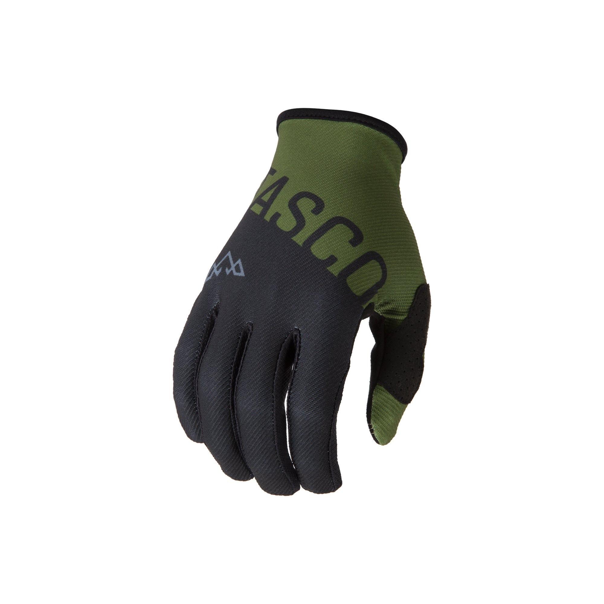 Split Double Digits MTB Gloves (Olive)-1