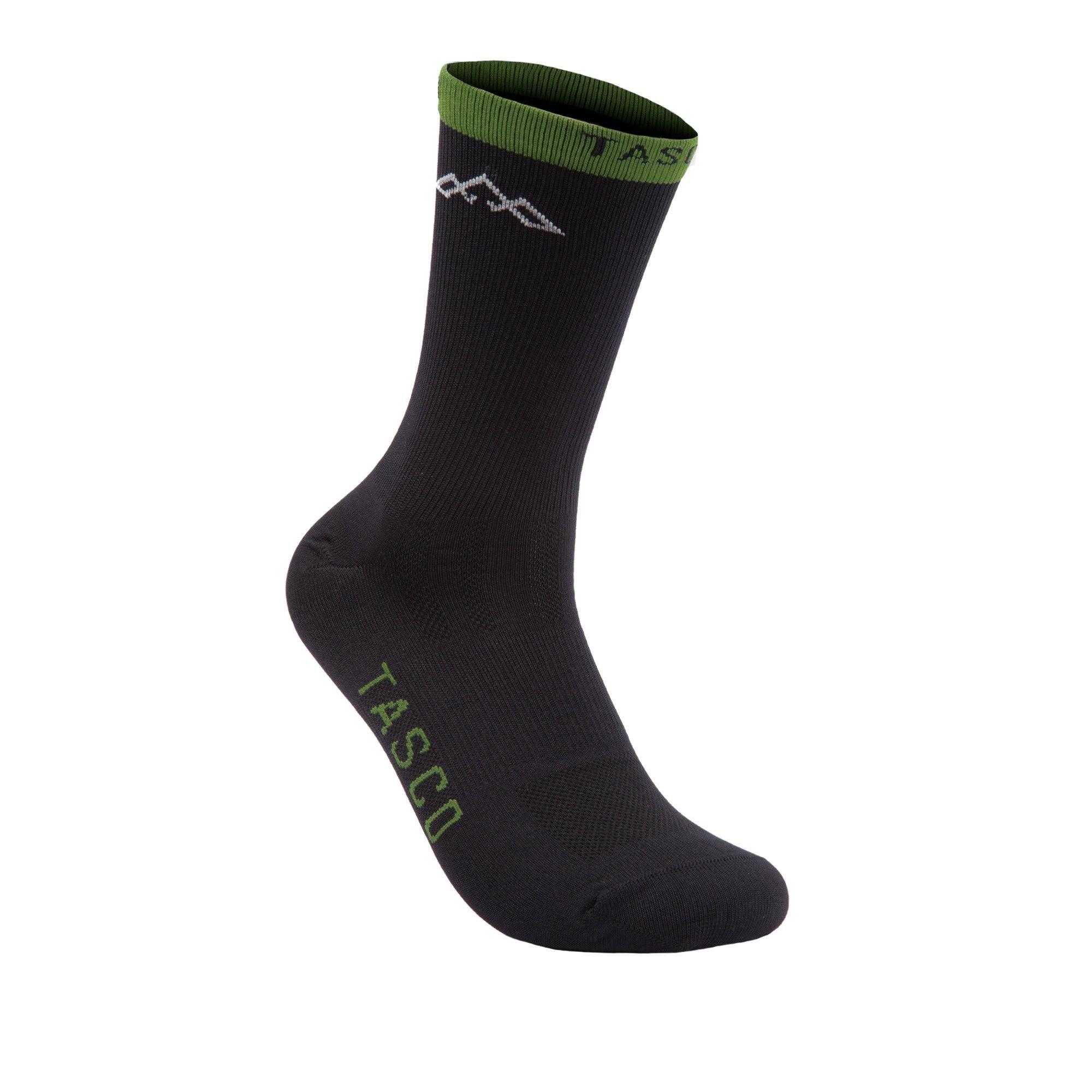 Split Double Digits MTB Socks (Olive)-1