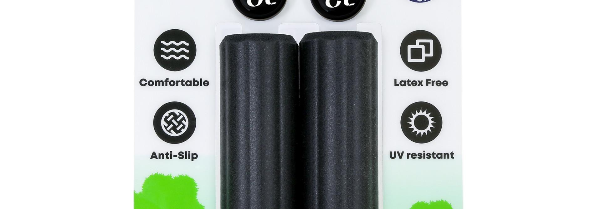 ESI Grips - Plush Silicone Grips, Black