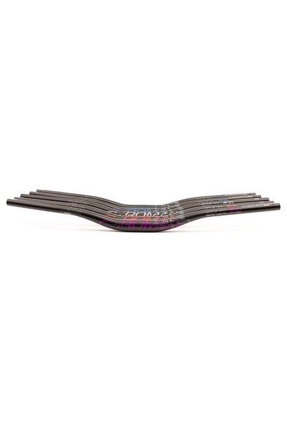 Chromag Fubars OSX 35 Handlebar - Aluminum, 35mm Rise, 35mm, 800mm, Black/Gray