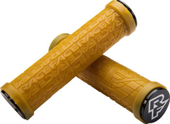 RaceFace Grippler Grips - Gum, Lock-On, 30mm-1